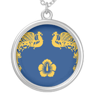 Presidential Standard Of The Republic Of Korea, So Silver Plated Necklace