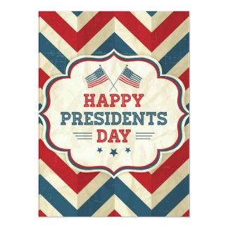 presidents day chevron card