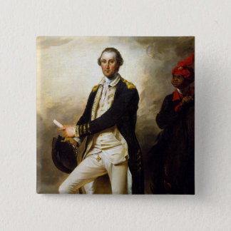President's Day: George Washington 2 Inch Square Button