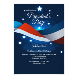 President's Day Invitation