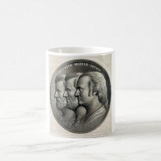 Presidents Grant, Lincoln, and Washington Coffee Mug