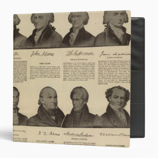 Presidents US, autographs, biographies 2 Binder