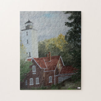 Presque Ilse Lighthouse Puzzle