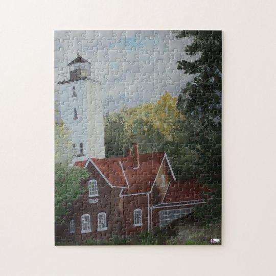 Presque Ilse Lighthouse Puzzle