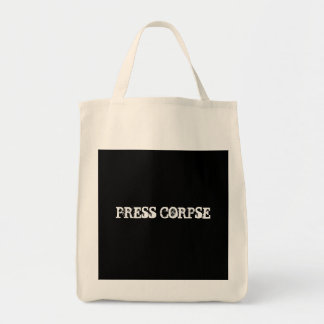 PRESS CORPSE TOTE BAG