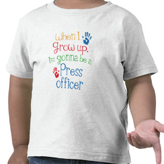 Press Officer (Future) Child Tees