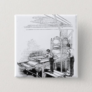 Press-printing 2 Inch Square Button