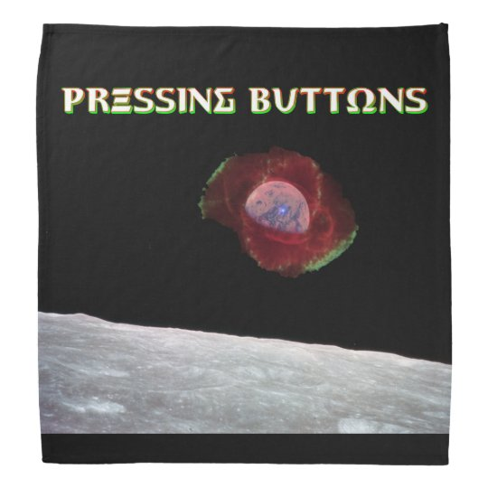 Pressing Buttons Exclusive 2017 Bandana