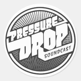 Pressure Drop Soundcast Sticker