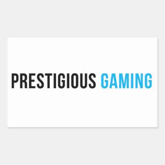 Prestigious Gaming sticker