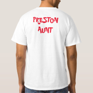 Preston birthday shirt