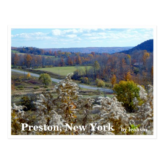 Preston, New York 2 Postcard