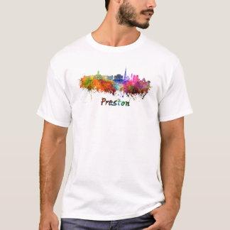 Preston skyline in watercolor T-Shirt