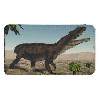 Prestosuchus dinosaur - 3D render Phone Pouch