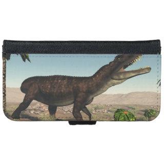 Prestosuchus dinosaur - 3D render iPhone 6 Wallet Case