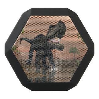 Prestosuchus dinosaur fishing - 3D render Black Bluetooth Speaker