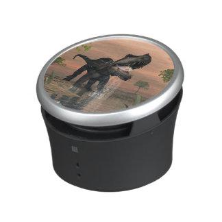 Prestosuchus dinosaur fishing - 3D render Bluetooth Speaker