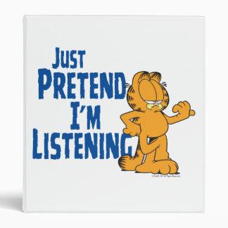 Pretend I'm Listening Binder