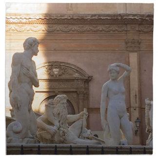 pretoria Piazza della Vergogna Napkin