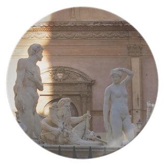 pretoria Piazza della Vergogna Plate