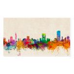 Pretoria South Africa Skyline Cityscape Business Cards