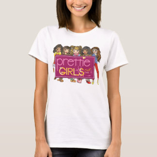 Prettie Girls! OWP Baby Doll T-Shirt