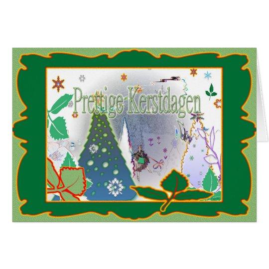prettige Kerstdagen Card