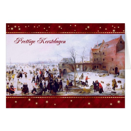 Prettige Kerstdagen.Dutch Christmas Greeting Cards