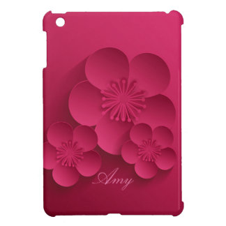 Pretty Abstract Asian Floral Design iPad Mini Case