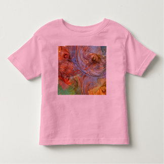 Pretty Abstract Floral T-shirt