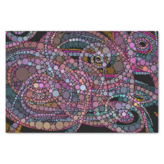 Pretty Abstract Trails Tissue Paper