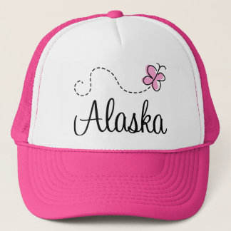Pretty Alaska Pink and White Hat Gift