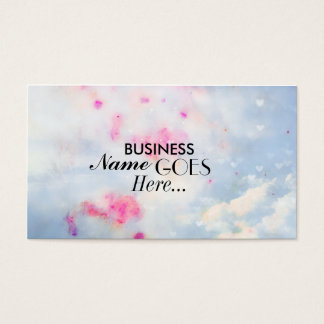 Pretty and Elegant Business card [Painted Sky]