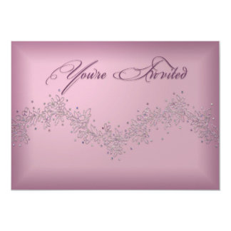 PRETTY AND PINK - FEMININE INVITATION FOR PARTIES
