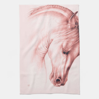 Pretty Andalusian Horse Kitchen Towel