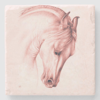 Pretty Andalusian Horse Stone Coaster