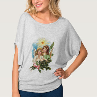 Pretty Angels With Palm Leaves T-Shirt
