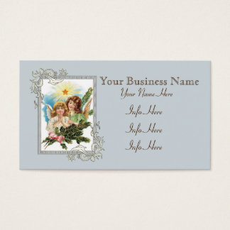Pretty Angels With Star Business Card