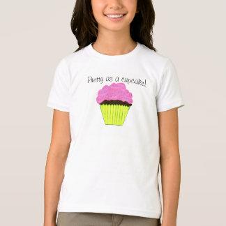 Pretty as a Cupcake Pink Cupcake Girls T-shirt