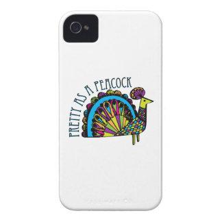 Pretty as a Peacock iPhone 4 Case-Mate Case