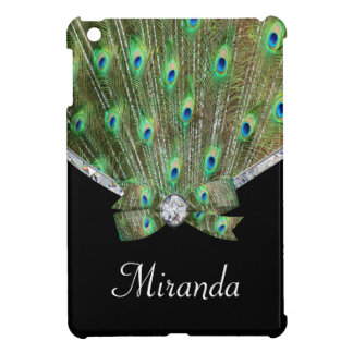 Pretty As A Peacock & Diamonds Case For The iPad Mini