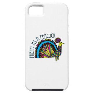 Pretty as a Peacock iPhone 5 Case