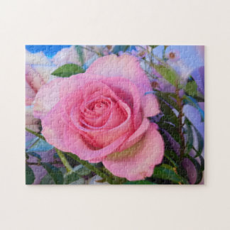 Pretty as a Picture Rose Rose Jigsaw Puzzle