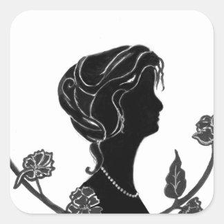 Pretty as a Picture Square Sticker