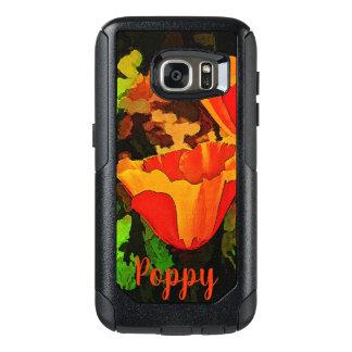 Pretty As A Poppy OtterBox Samsung Galaxy S7 Case