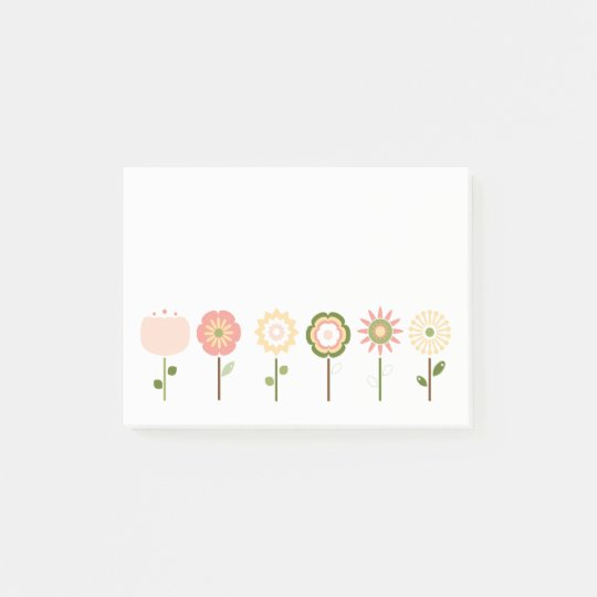 Pretty as a Posy Pink Flowers Notes