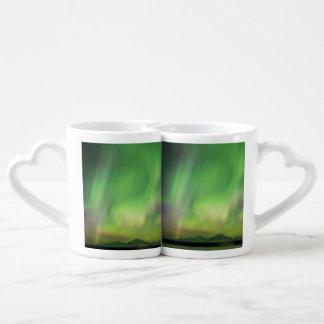 Pretty Aurora Coffee Mug Set