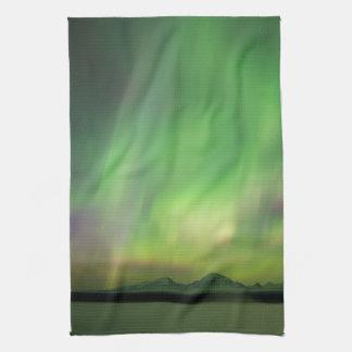 Pretty Aurora Kitchen Towel