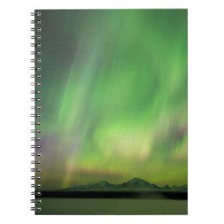 Pretty Aurora Notebooks