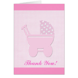 Pretty  Baby Girl Pink Card